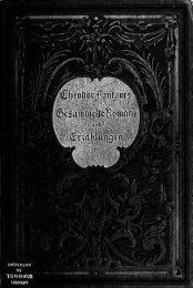 Theodor Fontane, ein Essai