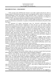 Realismo in Italia - i Macchiaioli - Scuola Media Pio X Artigianelli