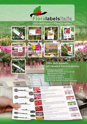 scarica la brochure completa - Floralabels Italia