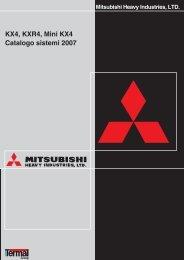 Catalogo VRF Mitsubishi Heavy Industries - Clima Ambiente Srl ...