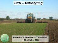 GPS – Autostyring