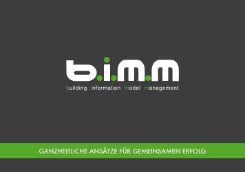 bimm - ganzheitliche ansätze für gemeinsamen erfolg