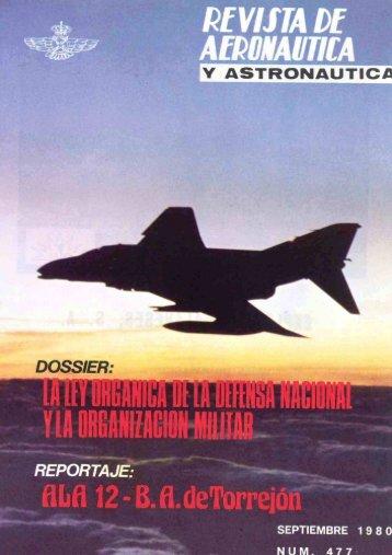 Nº 477 1980 Septiembre - Portal de Cultura de Defensa - Ministerio ...