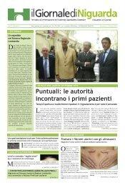 Puntuali: le autorità incontrano i primi pazienti - Ospedale Niguarda ...