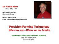 Precision Farming Technology - South Dakota Agri-Business ...