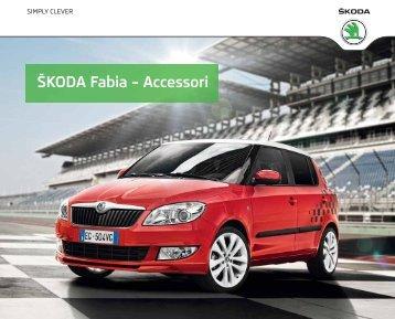 download del Catalogo Accessori Originali ŠKODA ... - Skoda Italia
