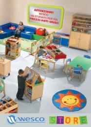 progetto ludico didattico per l'infanzia - Wesco Italia S.r.l.