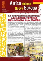Notiziario n° 40 – Giugno 2011 - HARAMBEE onlus
