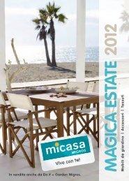 catalogo «Magica estate 2012 - Micasa
