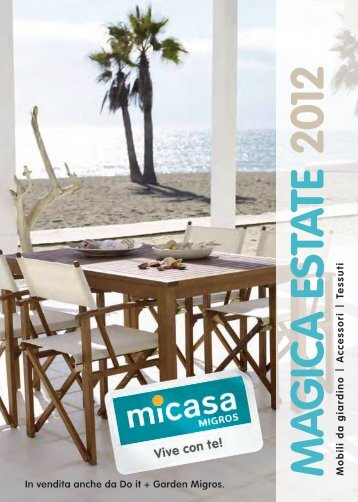 catalogo «Magica estate 2012 - Micasa