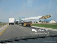 Big Kinetic turbines (wind etc) - fddrsn