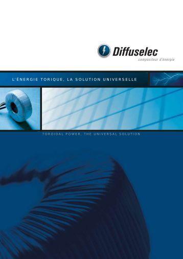 Catalogue TRANSFORMATEURS - Diffuselec