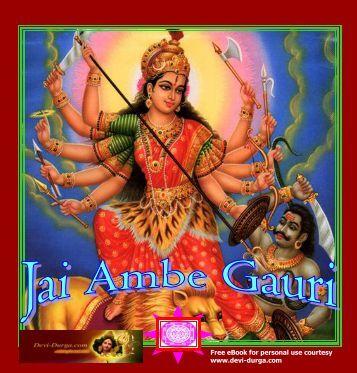 FREE Mantra e-BOOK - Devi Durga