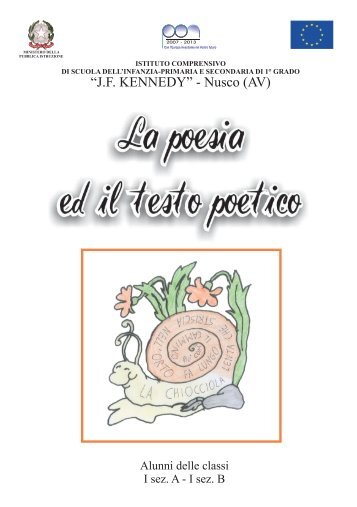 La poesia e il testo poetico - Istitutocomprensivonusco.it