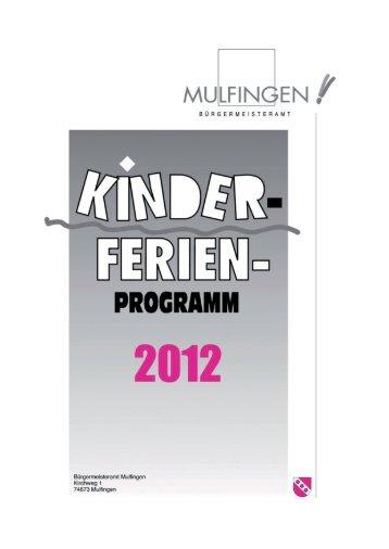 fahrt zur - Gemeinde Mulfingen