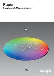 Paper Standards Measur Umschlag - Sappi Mobile