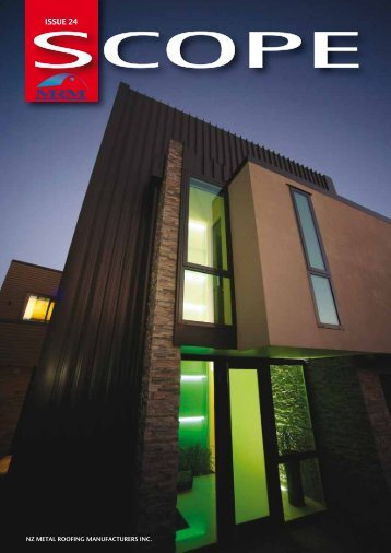 View SCOPE ISSUE 24 as pdf - Metal Roofing Manufacturers