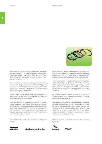 O-Ringe Joints toriques Die Entwicklungsgeschichte des O-Rings ...