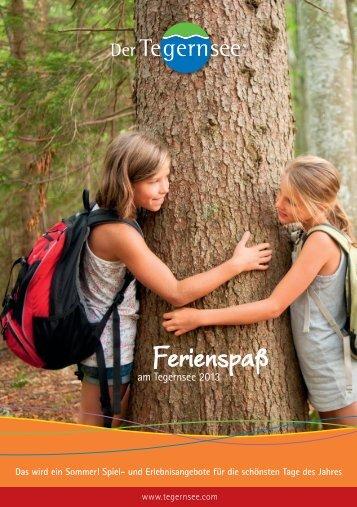 "Download ""Kinderferienprogramm 2013 der ... - Tegernsee.com"