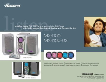MX4100 MX4100-03 - TriStar Distributing