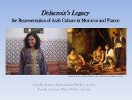 Delacroix's Legacy the Representation of Arab Culture in Morocco ...
