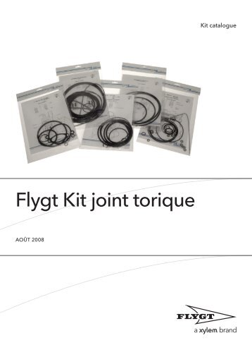 Flygt Kit joint torique - Water Solutions
