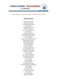 Devalle Stefano - Amori infiniti - N. Zingarelli
