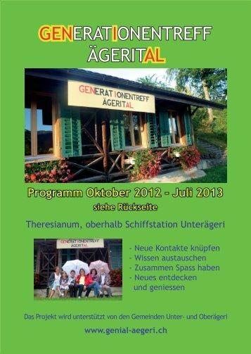 zum aktuellen Flyer - genial-aegeri.ch