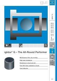 iglidur® G – The All-Round Performer - Igus