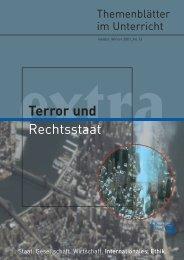 Terror und Rechtsstaat - Bundeszentrale für politische Bildung
