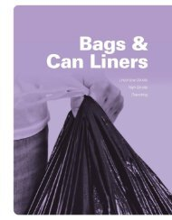 Page 1 & s g a B Can Liners Linear L0 Liv—Density High—Dansfty ...