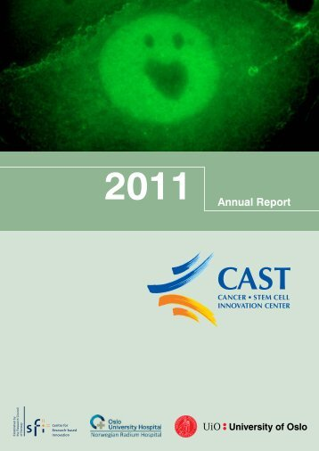Annual Report 2011 - SFI-CAST