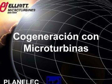 Cogeneración con Microturbinas - Comisión Nacional para el ...