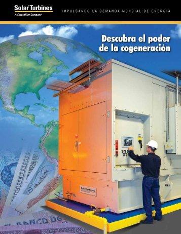 Descubra el poder de la cogeneración - Solar Turbines - Caterpillar ...