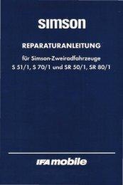 Download als pdf - MZ / Simson