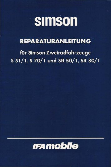 Download als pdf - MZ / Simson