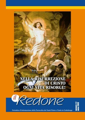 Redone n. 1-2 anno 2009 - Parrocchia GOTTOLENGO