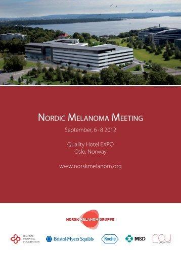 Program - the 8th Melanoma meeting, Oslo Norway