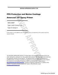 PPG Protective and Marine Coatings Amercoat 137 Epoxy Primer