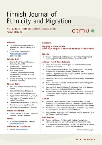journal of ethnic and migration studies guidelines