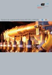 Equipos de cogeneración hasta 401 kWe y 549 kWt - Viessmann