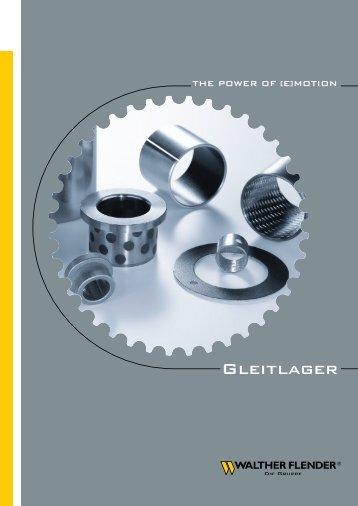 Gleitlager - Walther Flender