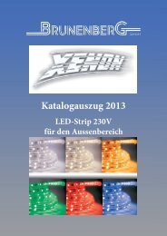 LED-Strip 230V - Brunenberg GmbH