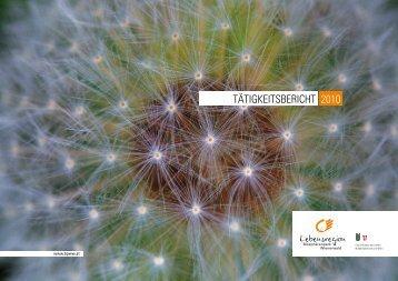 BPWW Tätigkeitsbericht 2010 - Biosphärenpark Wienerwald