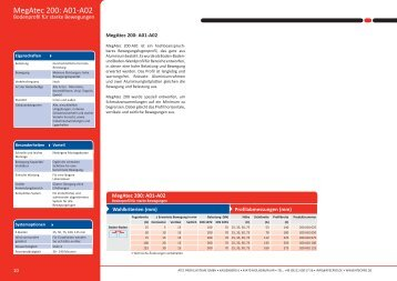 MegAtec 200: A01-A02 - Atec Bewegungsfugenprofile