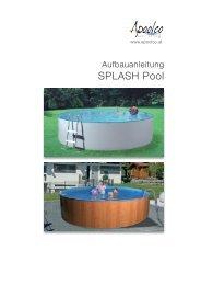 Download Aufbauanleitung Splash Pool