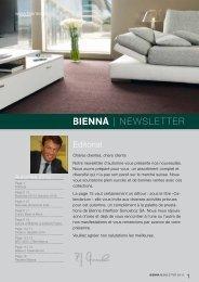   NEWSLETTER - Bienna