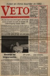 Koten en A/ma duurder in ,'1~9-82~ - archief van Veto