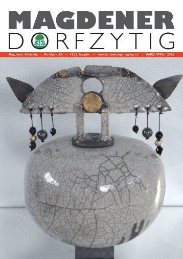 Ausgabe 1/2012 - Magdener Dorfzytig