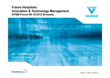 Future Hospitals: Innovation & Technology Management - EFQM